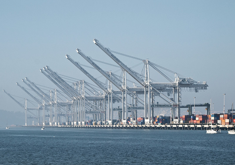 Port of Oakland and Science Applications International Corporation